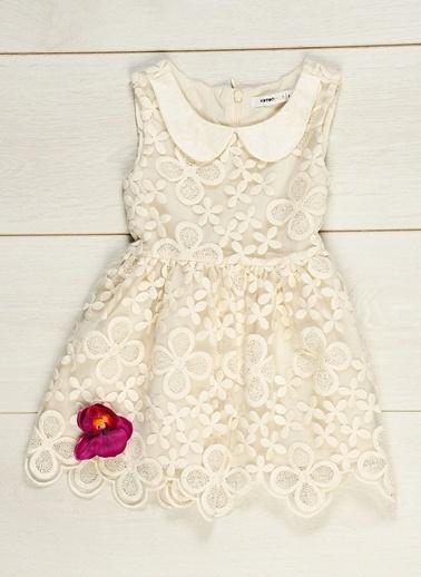 407751dbb18cb Koton Kids Kız Çocuk Elbise Ecru | Morhipo | 10928278